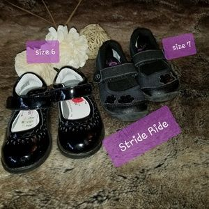 STRIDE RIDE MARY JANE SMALL GIRL SHOES SZ 6 SZ 7